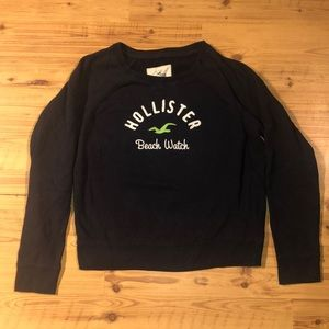 Hollister pull over sweatshirt